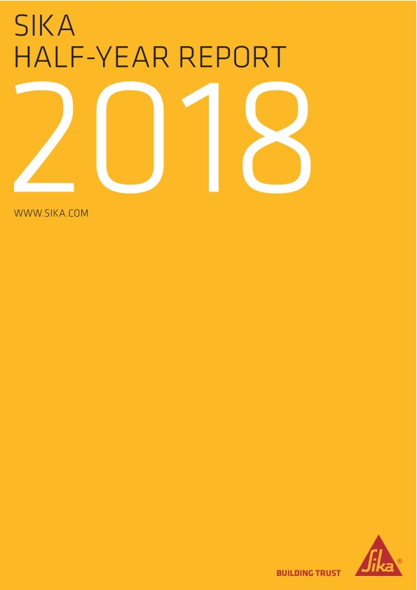 Sika Half-Year Report 2018