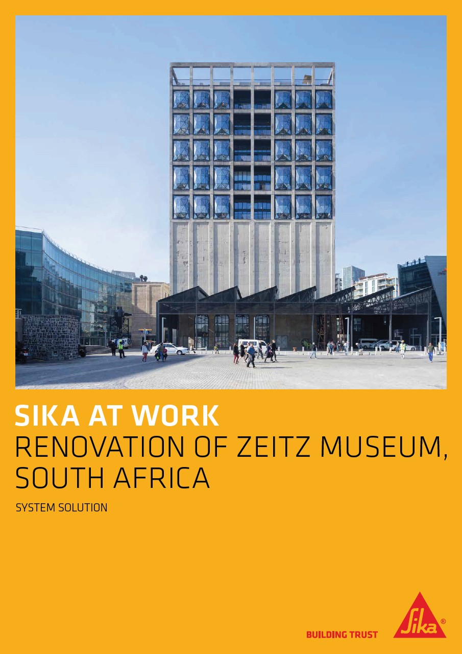 Sika at Work - Zeitz Museum - South Africa